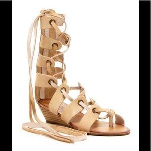 "Modern Rebel ""Saira"" Gladiator Sandal, NWOT, SZ 7"